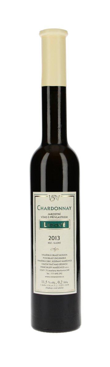 Vinné sklepy Maršovice Chardonnay ledové 2013, 0,2 l