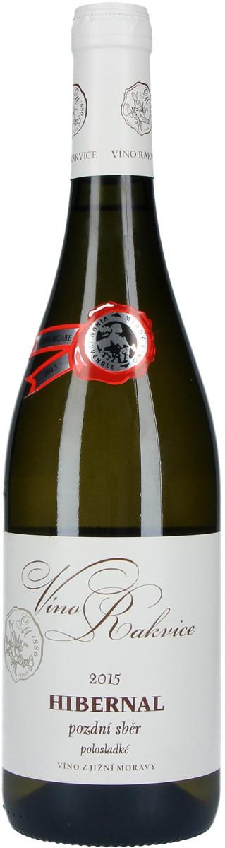 Víno Rakvice Hibernal pozdní sběr 2015, 0,75 l