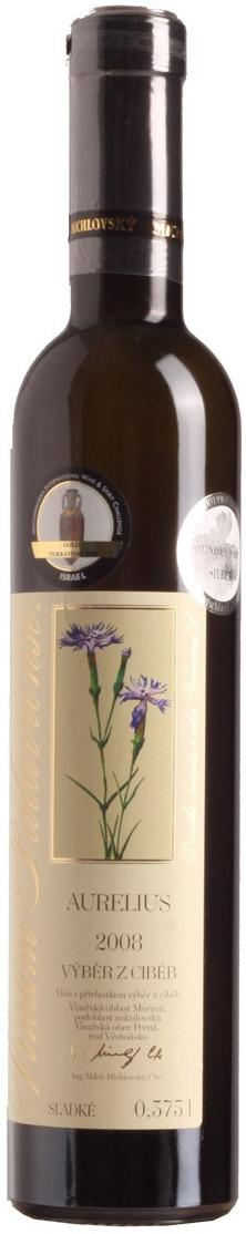 Vinselekt Aurelius - Vinium Palaviense výběr z cibéb 2008, 0,375 l