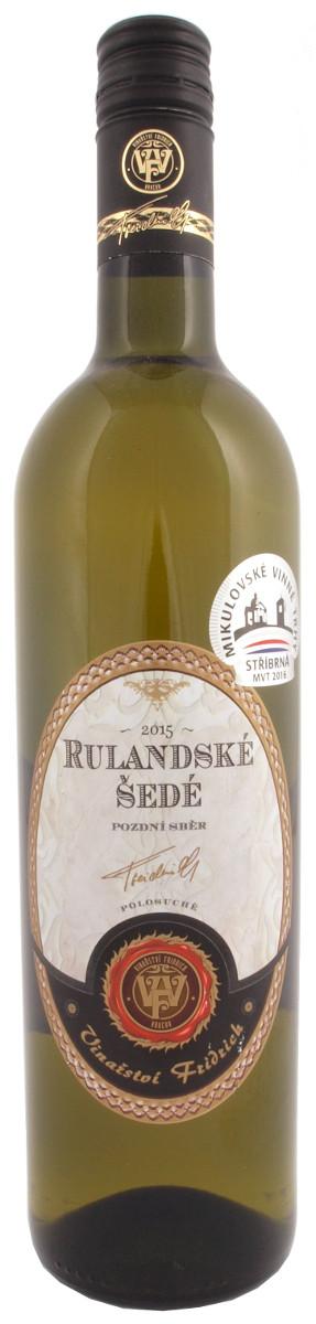 Vinařství Fridrich Rulandské šedé
