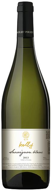Vinařství Kolby Sauvignon výběr z hroznů 2013, 0,75 l
