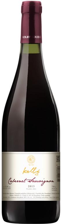 Vinařství Kolby Cabernet sauvignon pozdní sběr 2013, 0,75 l