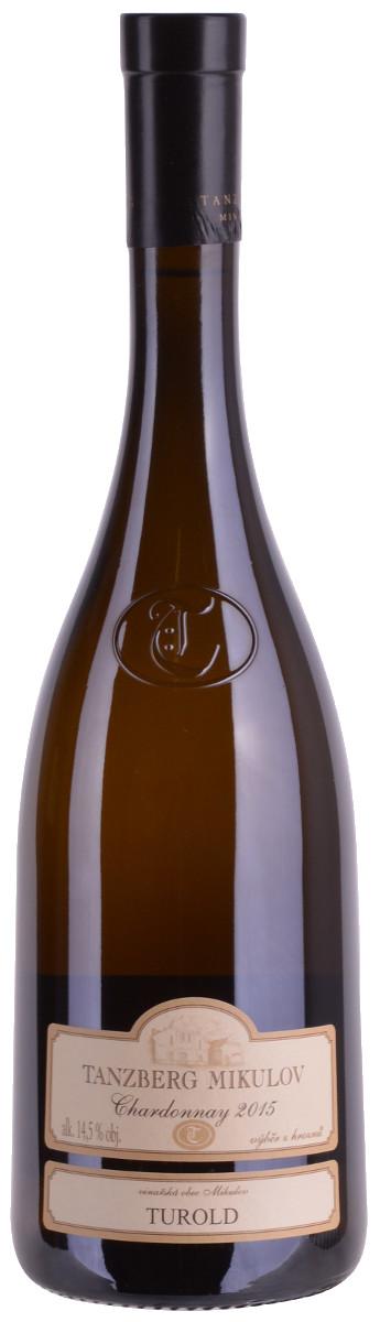 Vinařství Tanzberg Chardonnay výběr z hroznů 2015, 0,75 l
