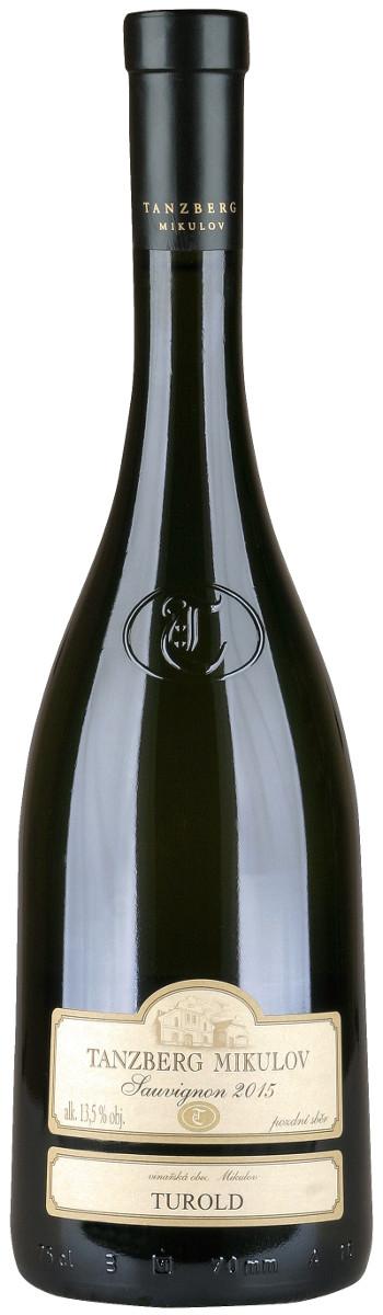 Vinařství Tanzberg Sauvignon pozdní sběr 2015, 0,75 l
