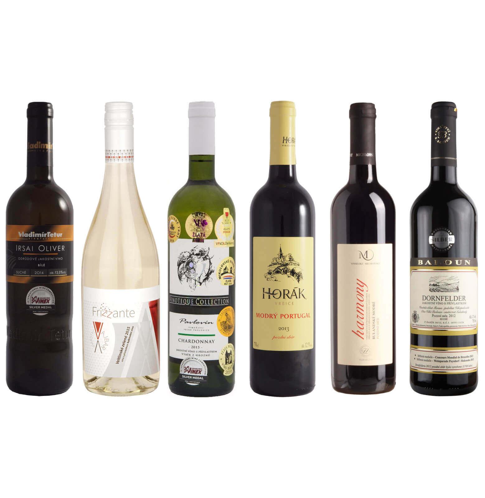 Kolekce z Velkopavlovické vinařské podoblasti