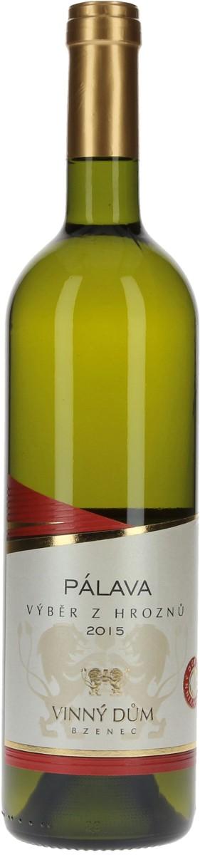 Vinný dům Pálava výběr z hroznů 2015, 0,75 l