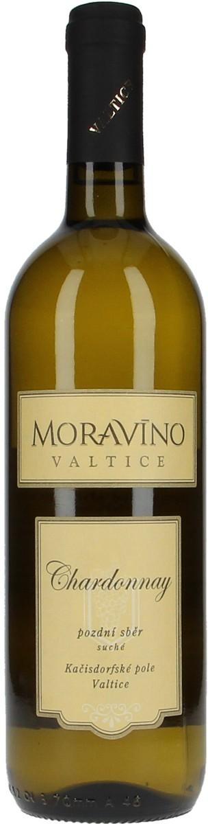 Vinařství Moravíno Chardonnay pozdní sběr 2015, 0,75 l