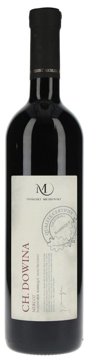 Merlot, pozdní sběr, Vinařství Vinselekt