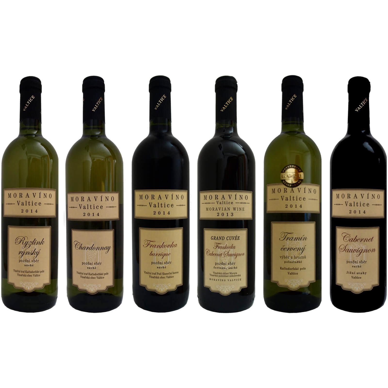 Náš výběr z Moravína, vína na úrovni za super peníz, Vinařství Moravíno