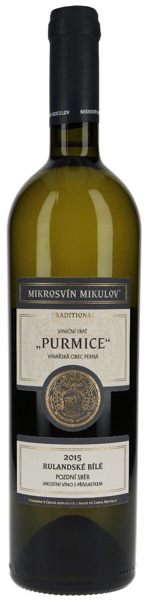 Vinařství Mikrosvín Rulandské bílé
