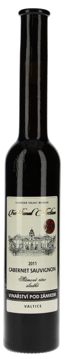 Vinařství pod Zámkem Cabernet Sauvignon slámové 2011, 0,2 l