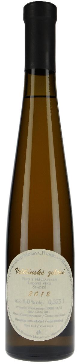 Vinařství Mikrosvín Veltlínské zelené ledové 2012, 0,375 l