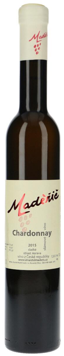 Vinařství Maděřič Chardonnay slámové 2015, 035 l