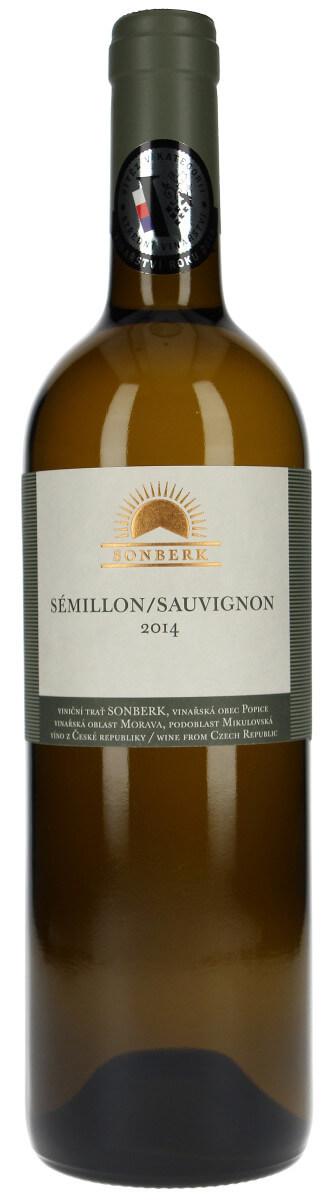 Vinařství Sonberk Sémillon/Sauvignon pozdní sběr 2014, 0,75 l
