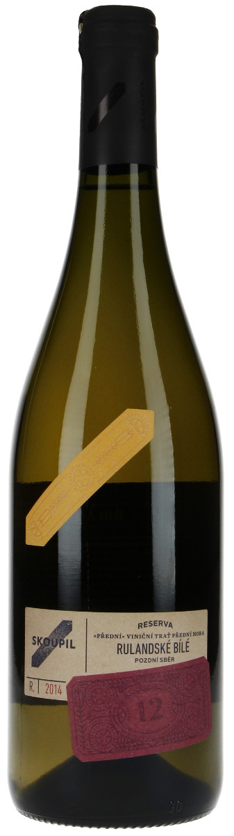 Vinařství Petr Skoupil Rulandské bílé pozdní sběr 2014, 0,75 l