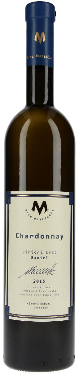 Vinařství Marcinčák Chardonnay - Bio výběr z bobulí 2015, 0,75 l