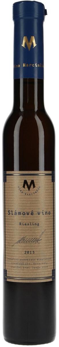 Vinařství Marcinčák Riesling - Bio slámové 2015, 0,20 l