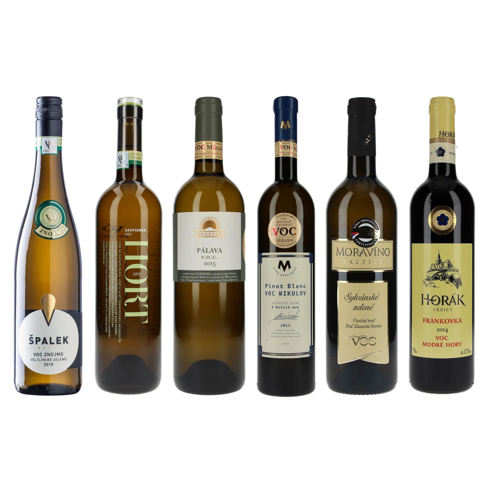 Náš výběr z VOC, vína typická pro danou oblast