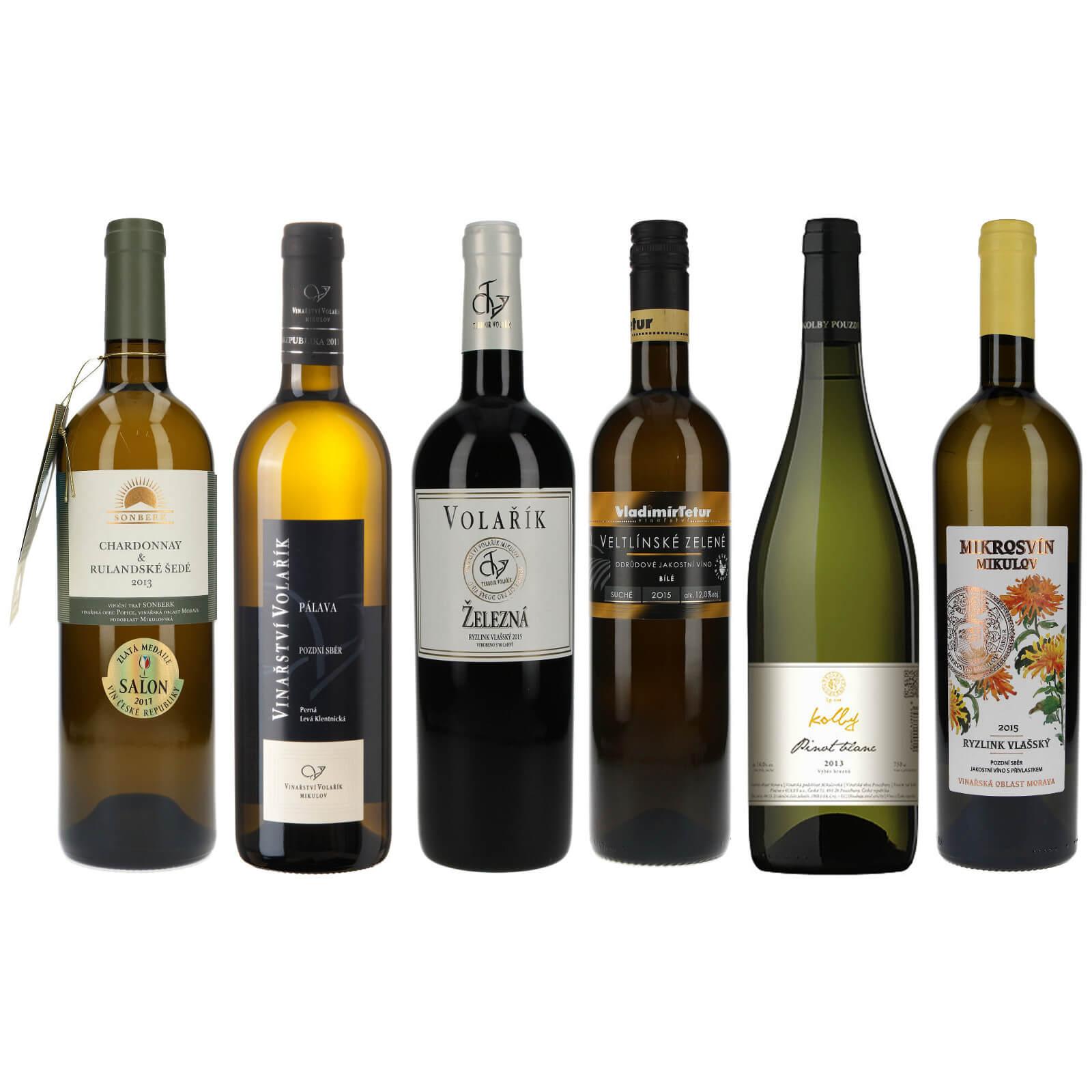 Kolekce bílá Salon vín - Zlatí medailisté
