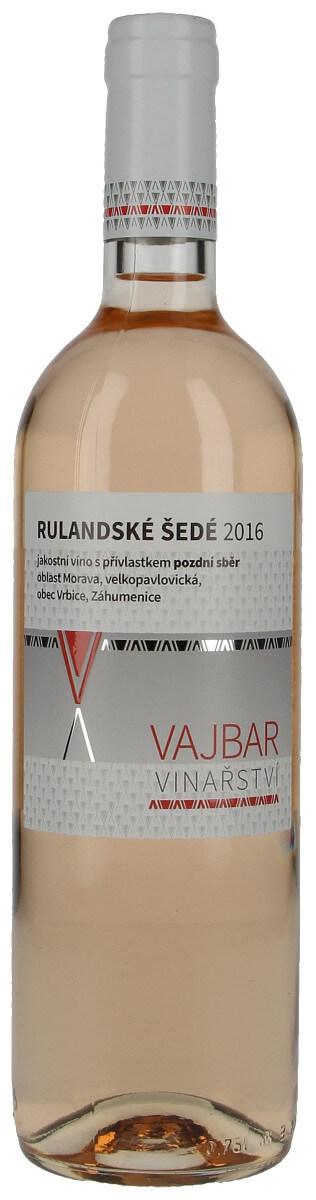Vinařství Vajbar Rulandské šedé