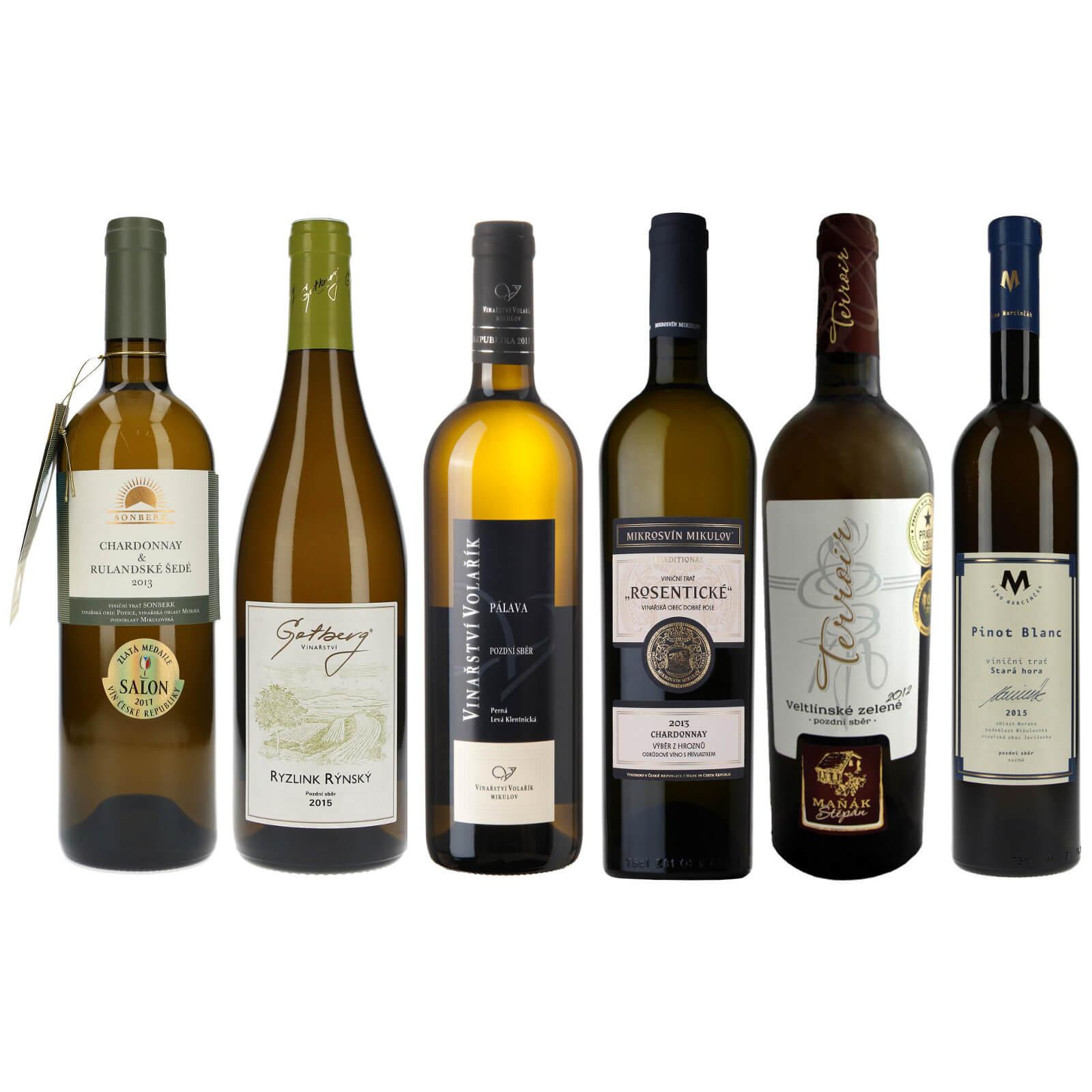 Kolekce pro milovníky suchých bílých vín