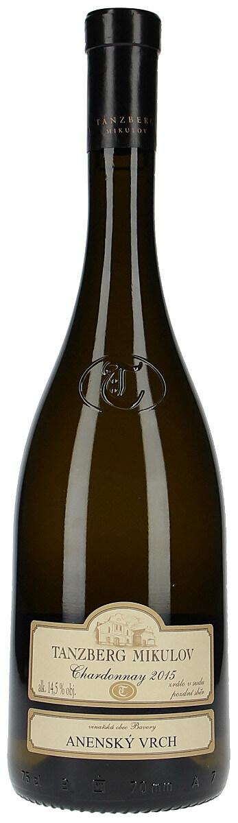 Vinařství Tanzberg Chardonnay pozdní sběr 2015, 0,75 l