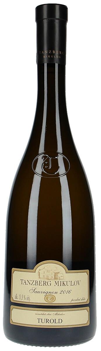 Vinařství Tanzberg Sauvignon pozdní sběr 2016, 0,75 l