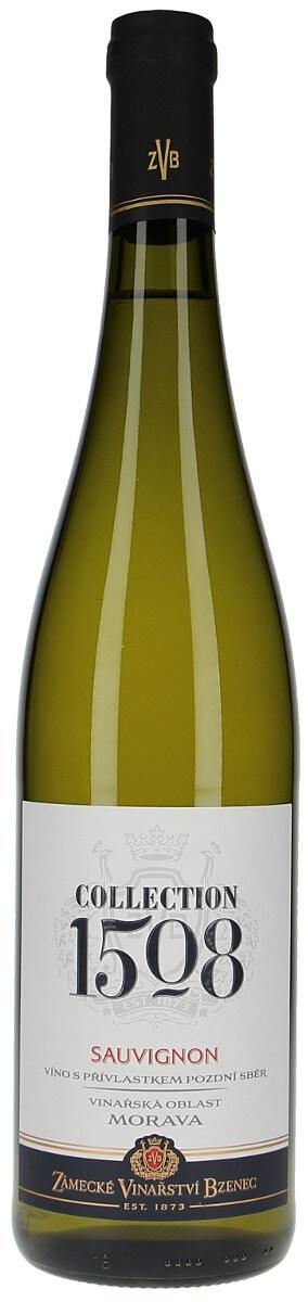 Zámecké vinařství Bzenec Sauvignon pozdní sběr 2016, 0,75 l