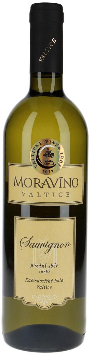 Vinařství Moravíno Sauvignon pozdní sběr 2016, 0,75 l