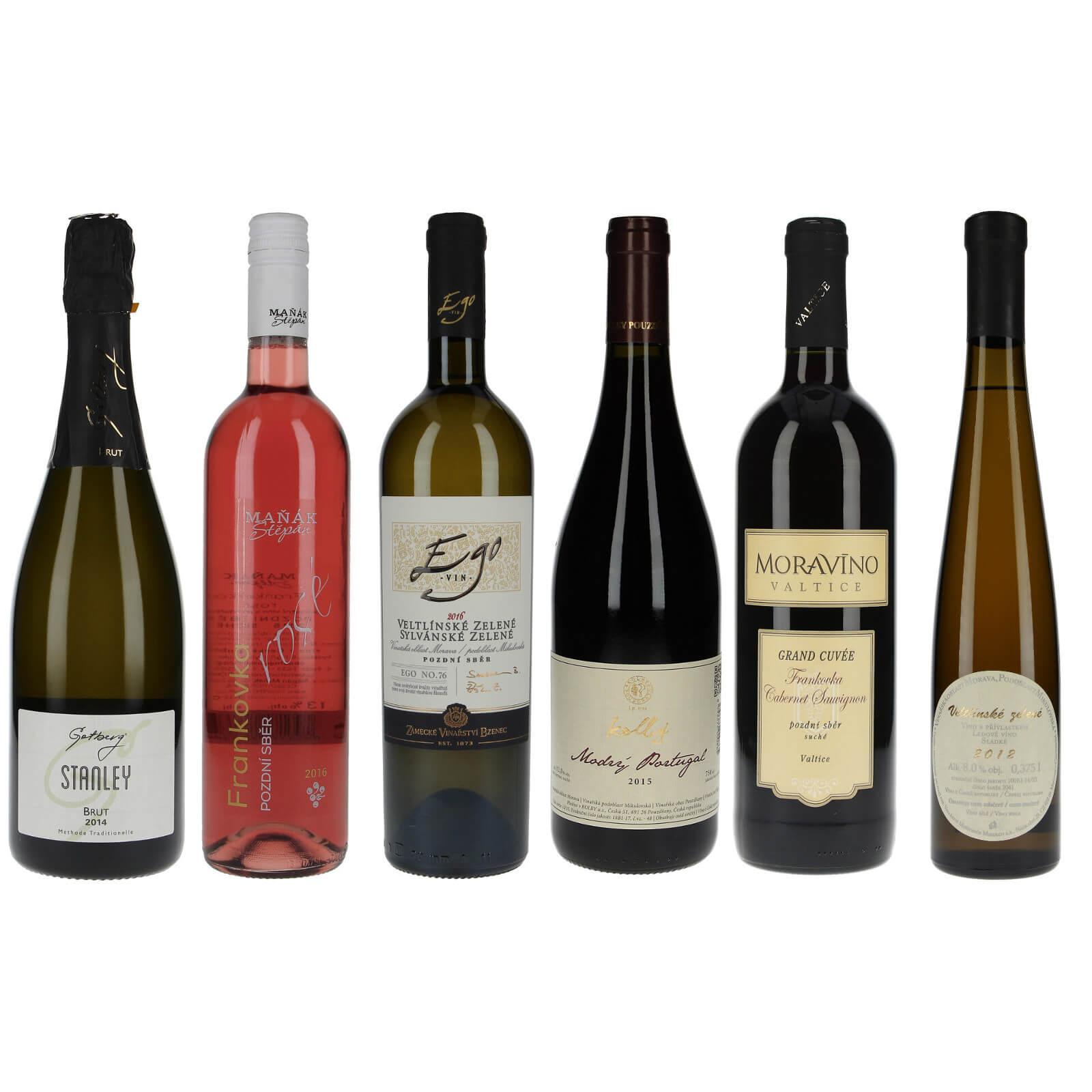 Mix vín pro enogastro