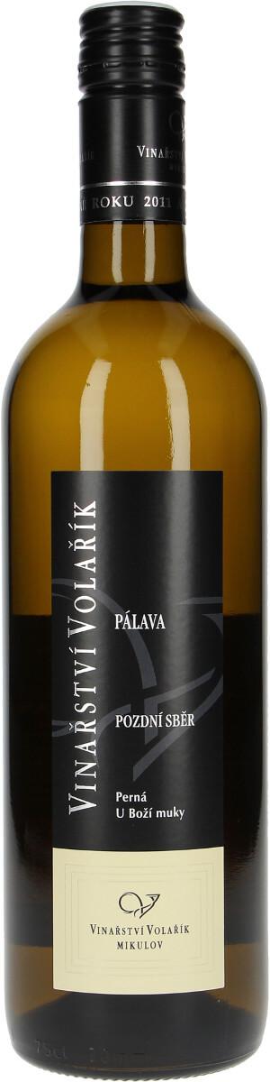Vinařství Volařík Pálava pozdní sběr 2017, 0,75 l