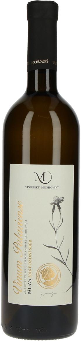 Vinařství Vinselekt Pálava Vinum Palaviense pozdní sběr 2016, 0,75 l
