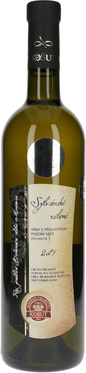 Sylvánské zelené 2017, pozdní sběr, Rodinné vinařství Košut