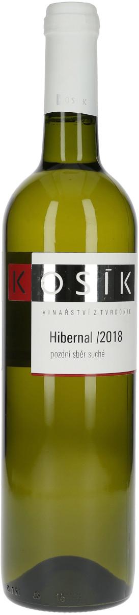 Hibernal 2018, pozdní sběr, Vinařství Kosík
