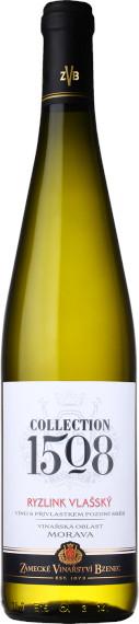 Ryzlink vlašský 2017, pozdní sběr, Zámecké vinařství Bzenec