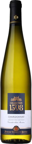 Chardonnay 2018, jakostní, Zámecké vinařství Bzenec