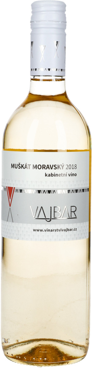 Muškát moravský 2018, kabinetní, Bronislav Vajbar