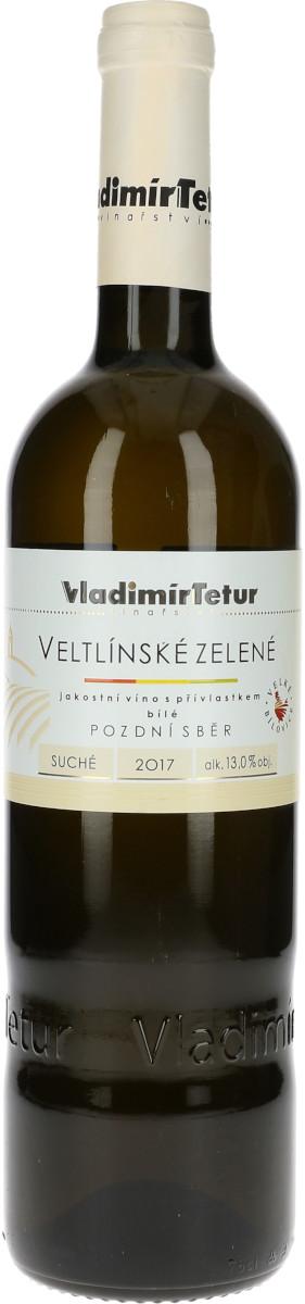 Veltlínské zelené 2017, pozdní sběr, Vladimír Tetur