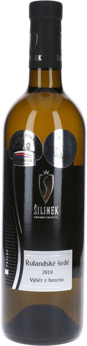 Rulandské šedé 2018, výběr z hroznů, Vinařství Šilinek