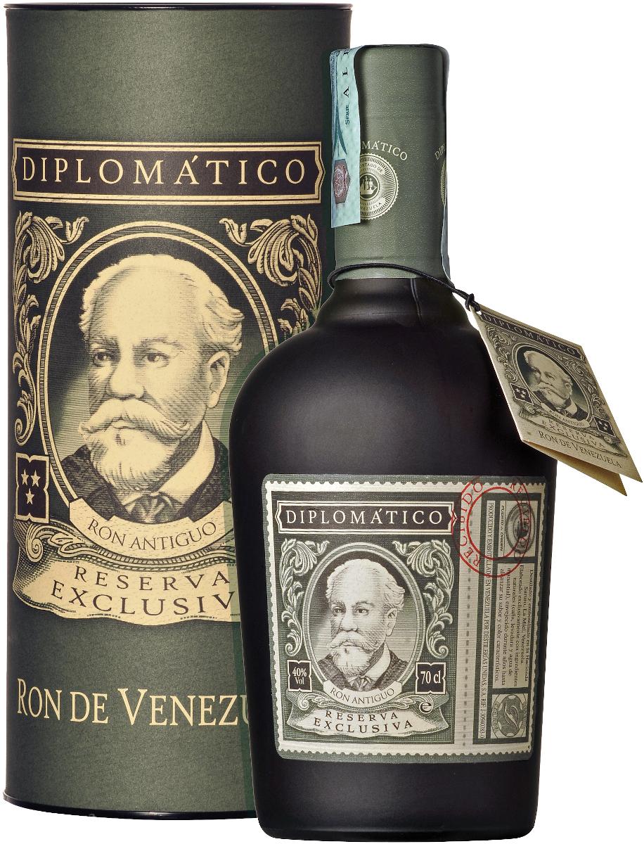 Diplomatico Reserva Exclusiva (dárk.tuba) 40% vol., Rum
