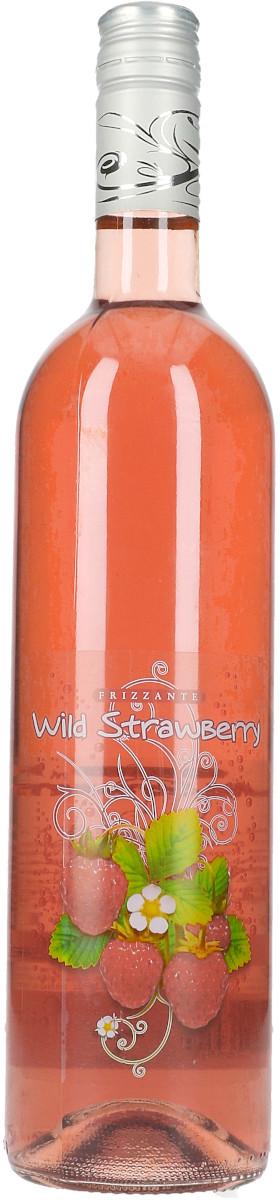 Frizzante Wild Strawberry Rose ČR (0,75 l), perlivé, Vineco