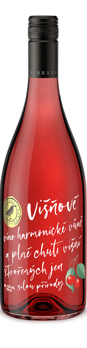 Ovocné víno Višňové, Zahradní vinařství