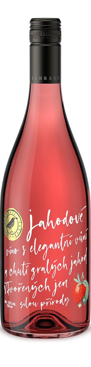 Ovocné víno Jahodové, Zahradní vinařství