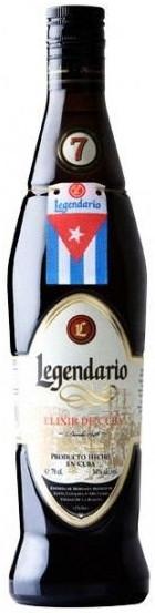 Legendario Elixir de Cuba 7YO 34% vol., Rum, Legendario Ron, Cuba