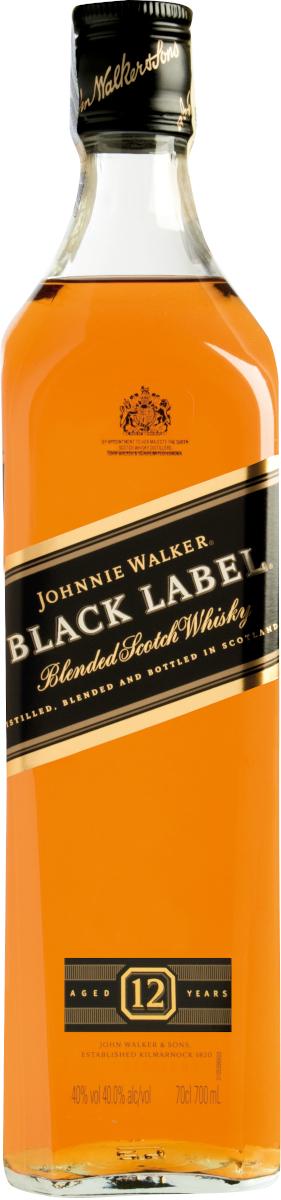 J.Walker Black Label 12YO (dárkový box) 40% vol., Whisky, Johnnie Walker