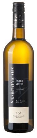 Ryzlink vlašský - trať Zimní vrch 2020, kabinetní, Vinařství Volařík