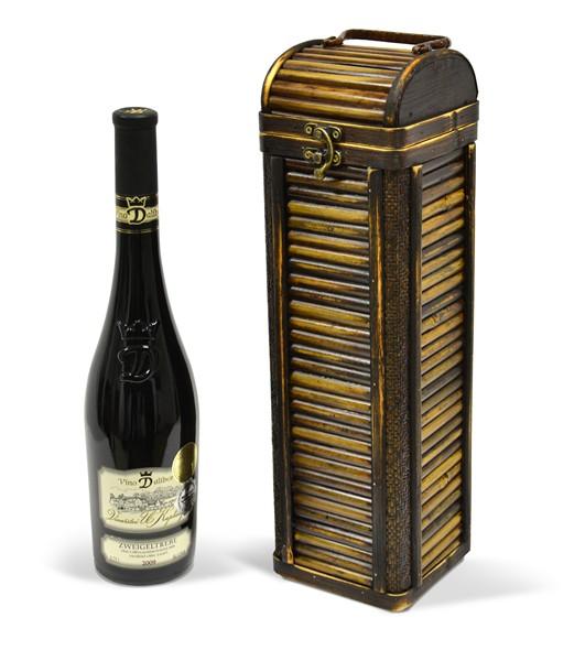 Bambusová kazeta na víno