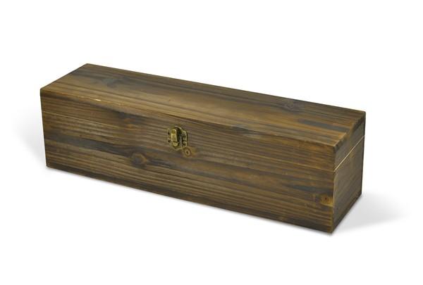 Dřevěný box na lahev